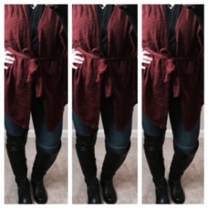 The Moth Pravin Cardigan in Brown (Sold at Anthropologie)
